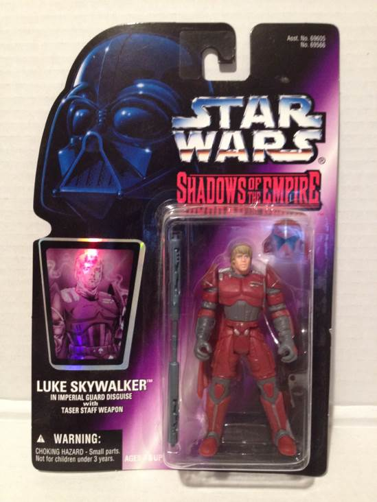 Shadows Of The Empire. Luke Skywalker Star Wars - Hasbro (1996) front image (front cover)