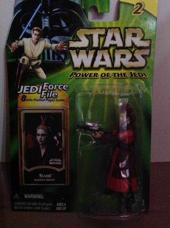 Sabe Star Wars - Hasbro (2000) front image (front cover)