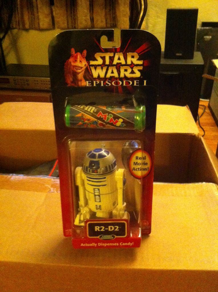 R2-D2 Candy Hander Star Wars - Hasbro (1999) front image (front cover)