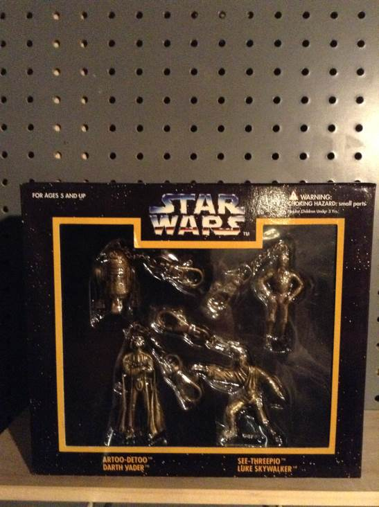 Die Cast Metal Key Chain Set Star Wars - Placo (1996) front image (front cover)
