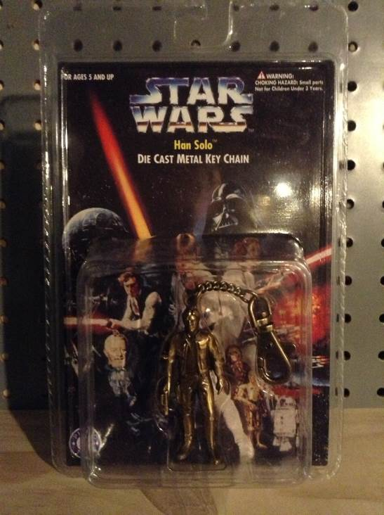 Han Solo Metal Keychain Star Wars - Placo (1996) front image (front cover)