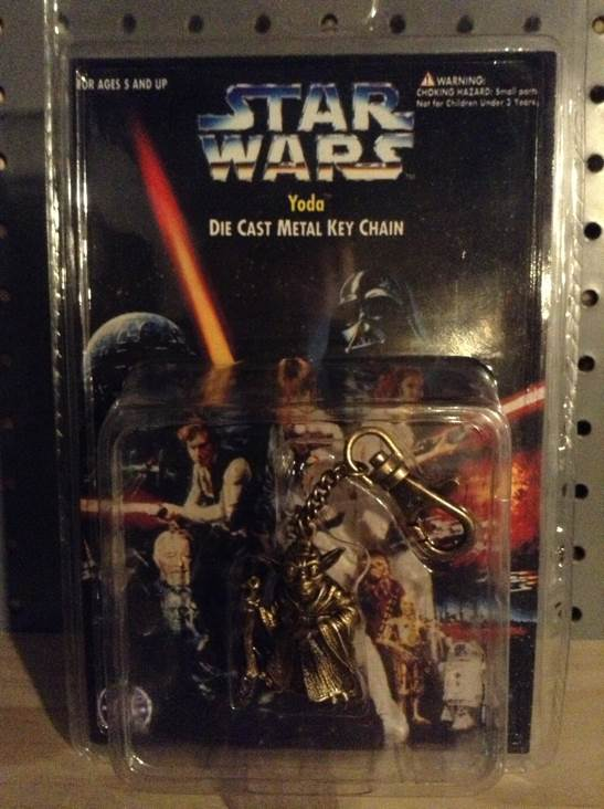 Yoda Metal Keychain Star Wars - Placo (1996) front image (front cover)