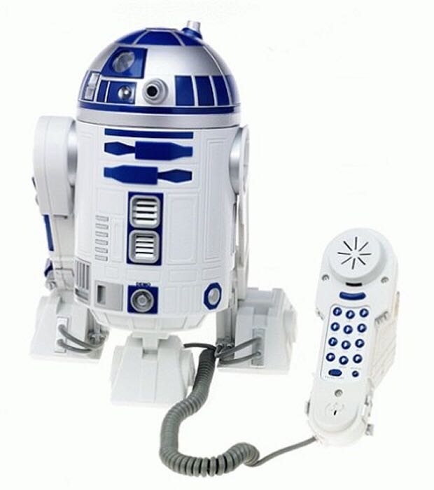 R2 D2 Telephone Star Wars - Tele Mania back image (back cover, second image)