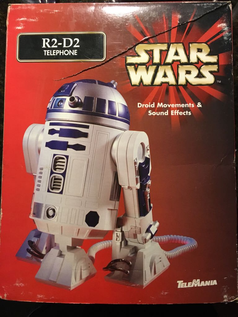 R2 D2 Telephone Star Wars - Tele Mania front image (front cover)