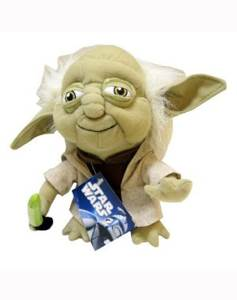 Super Deformed Yoda 7 inch Plush Star Wars front image (front cover)