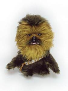 """Star Wars Chewbacca Sd 7"""" Plush Star Wars front image (front cover)"""