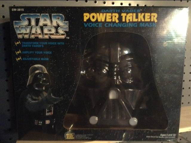 Darth Vader Power Talker Star Wars - Micro Games Of America (1995) front image (front cover)