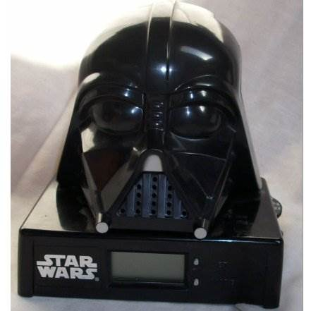 Darth Vader Clock Radio Star Wars - Micro Games Of America (1995) front image (front cover)