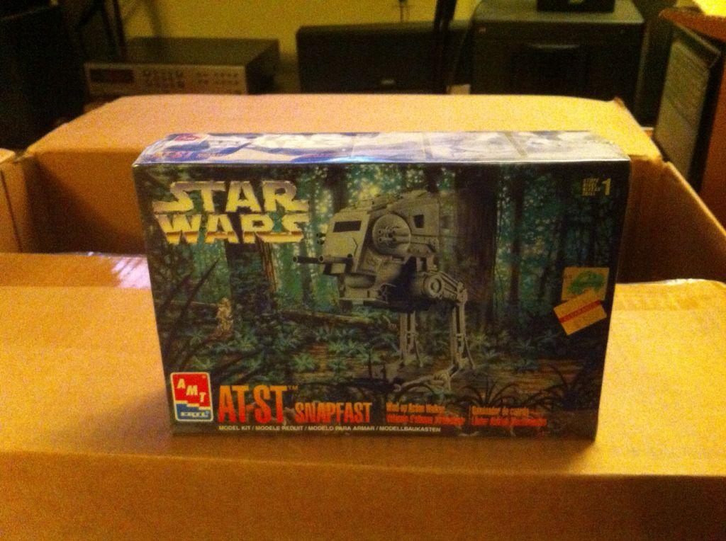 AT-ST Model 2 Star Wars - Amt Ertl (1997) back image (back cover, second image)