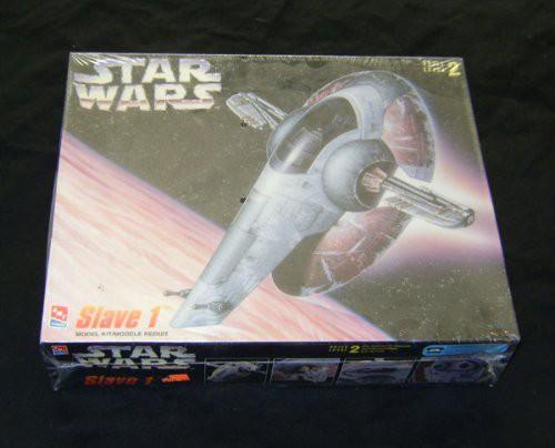 Slave One Model Kit Star Wars - Amt Ertl (2014) front image (front cover)