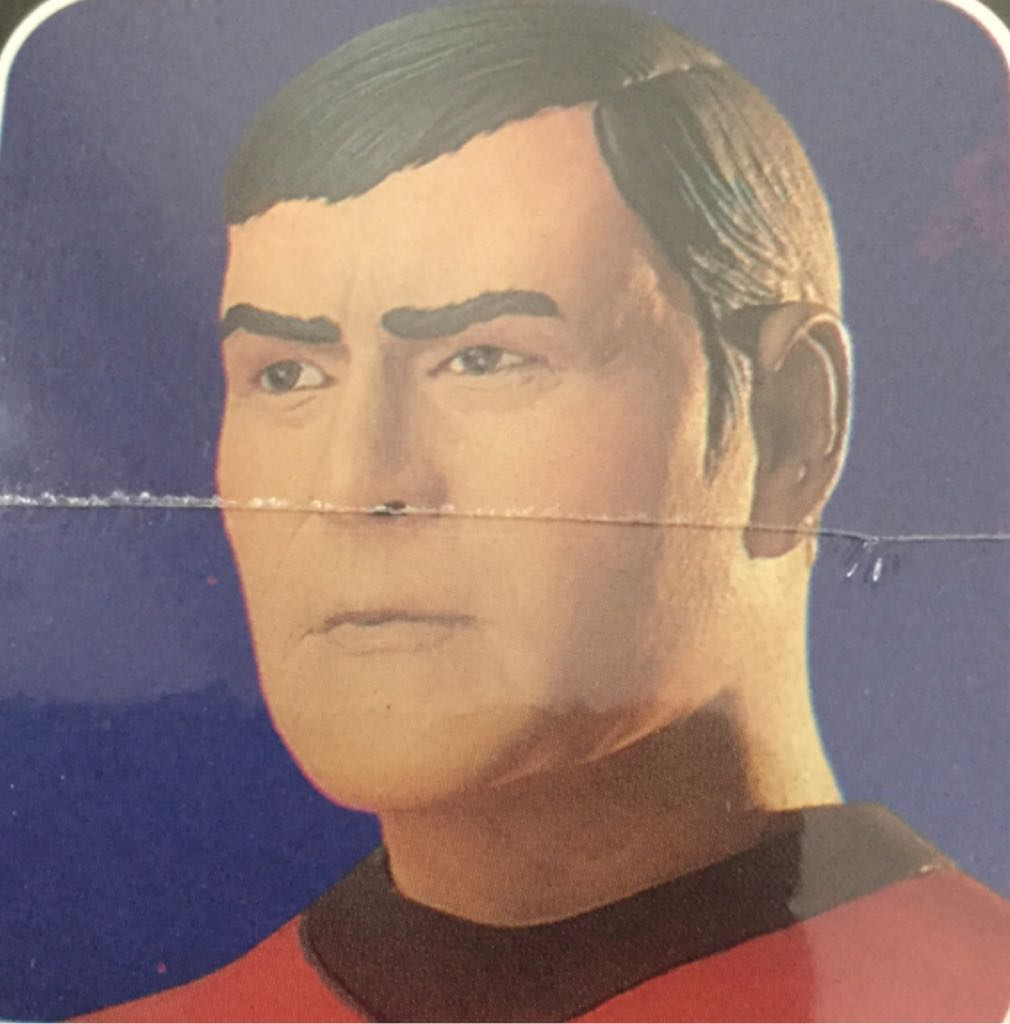 Chief Engineer, Mr. Scott Star Wars - Amt Ertl (1994) back image (back cover, second image)