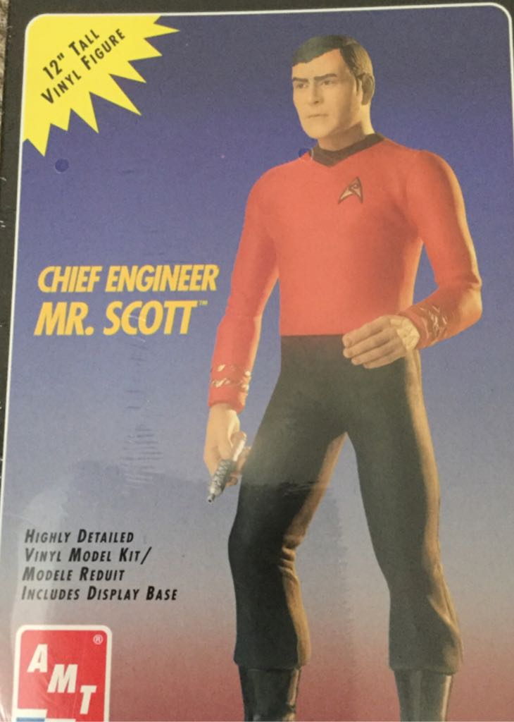 Chief Engineer, Mr. Scott Star Wars - Amt Ertl (1994) front image (front cover)