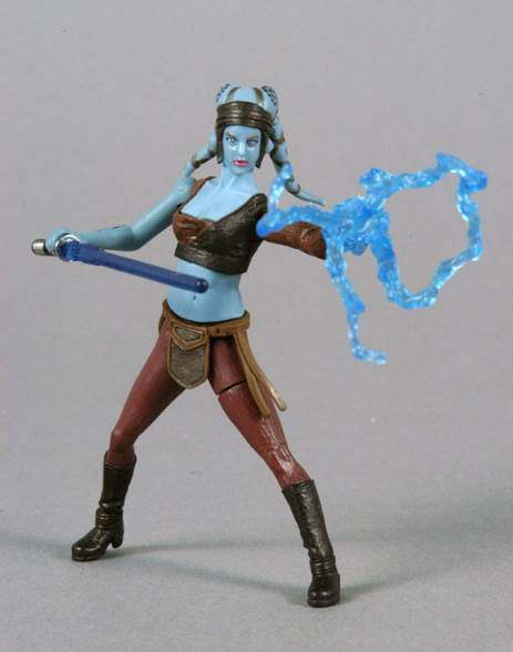 Aayla Secura (Jedi Knight) Star Wars - Hasbro (2002) - from