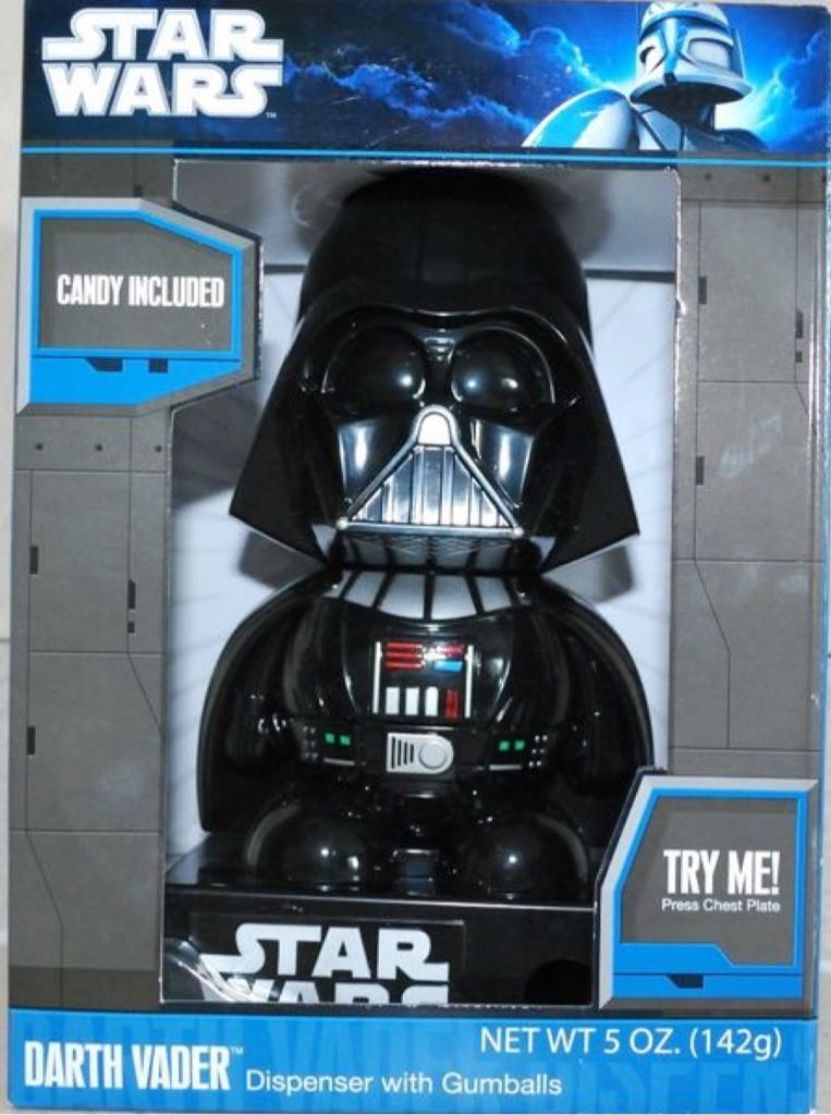 Star Wars Darth Vader Dispenser With Gumballs Star Wars (2012) front image (front cover)