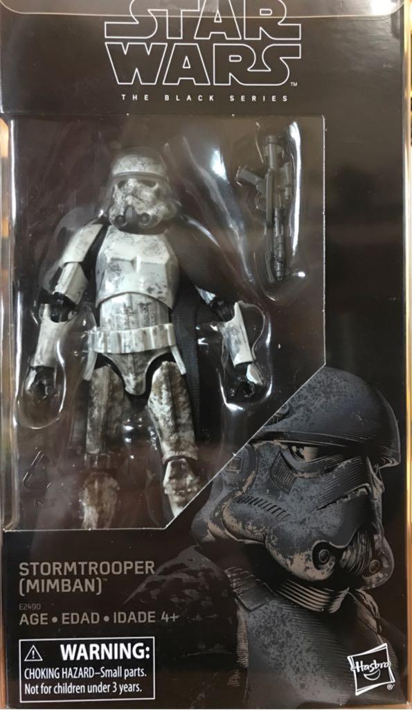 Stormtrooper (Mimban) Star Wars - Disney Hasbro (2018) front image (front cover)