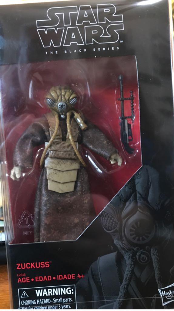 Zuckuss Star Wars - Disney Hasbro (2018) front image (front cover)