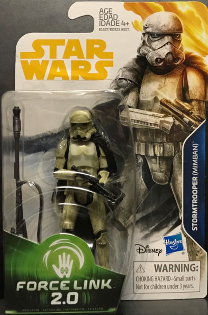 Stormtrooper (Mimban) Star Wars - Force Link 2.0 (2017) front image (front cover)