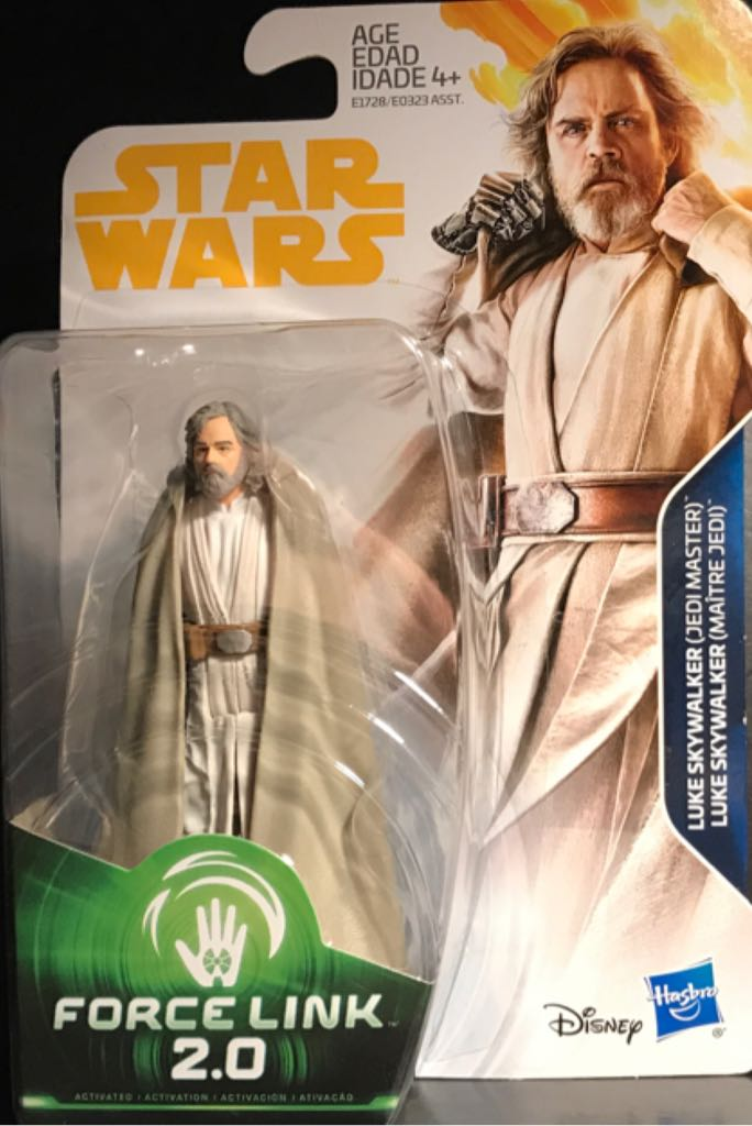 Luke Skywalker (Jedi Master) Star Wars - Force Link 2.0 (2017) front image (front cover)
