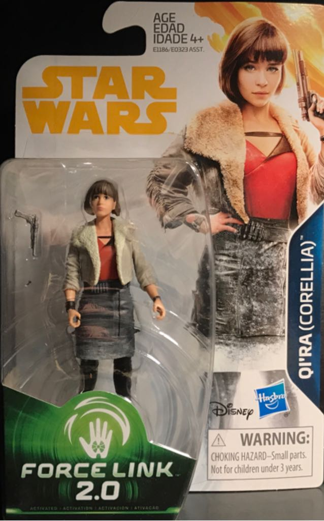 Qi'Ra (Corellia) Star Wars - Force Link 2.0 (2017) front image (front cover)