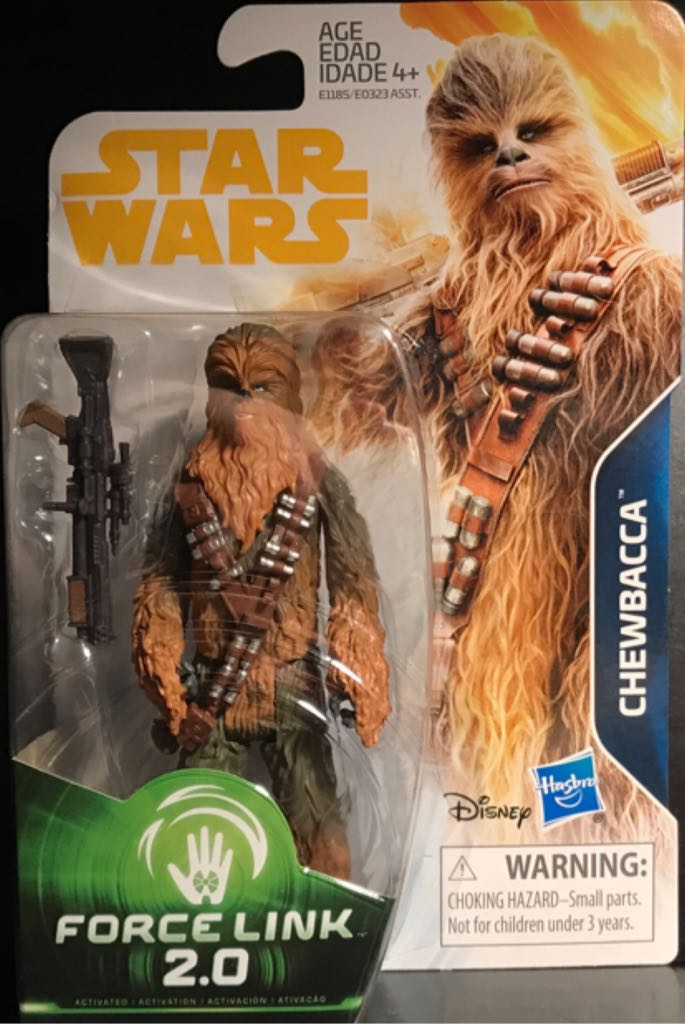Chewbacca Star Wars - Force Link 2.0 (2017) front image (front cover)
