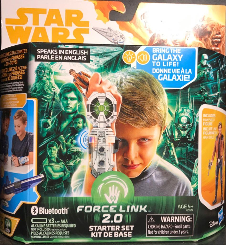 Han Solo - Force Link 2.0 Starter Kit Star Wars - Force Link 2.0 (2017) front image (front cover)