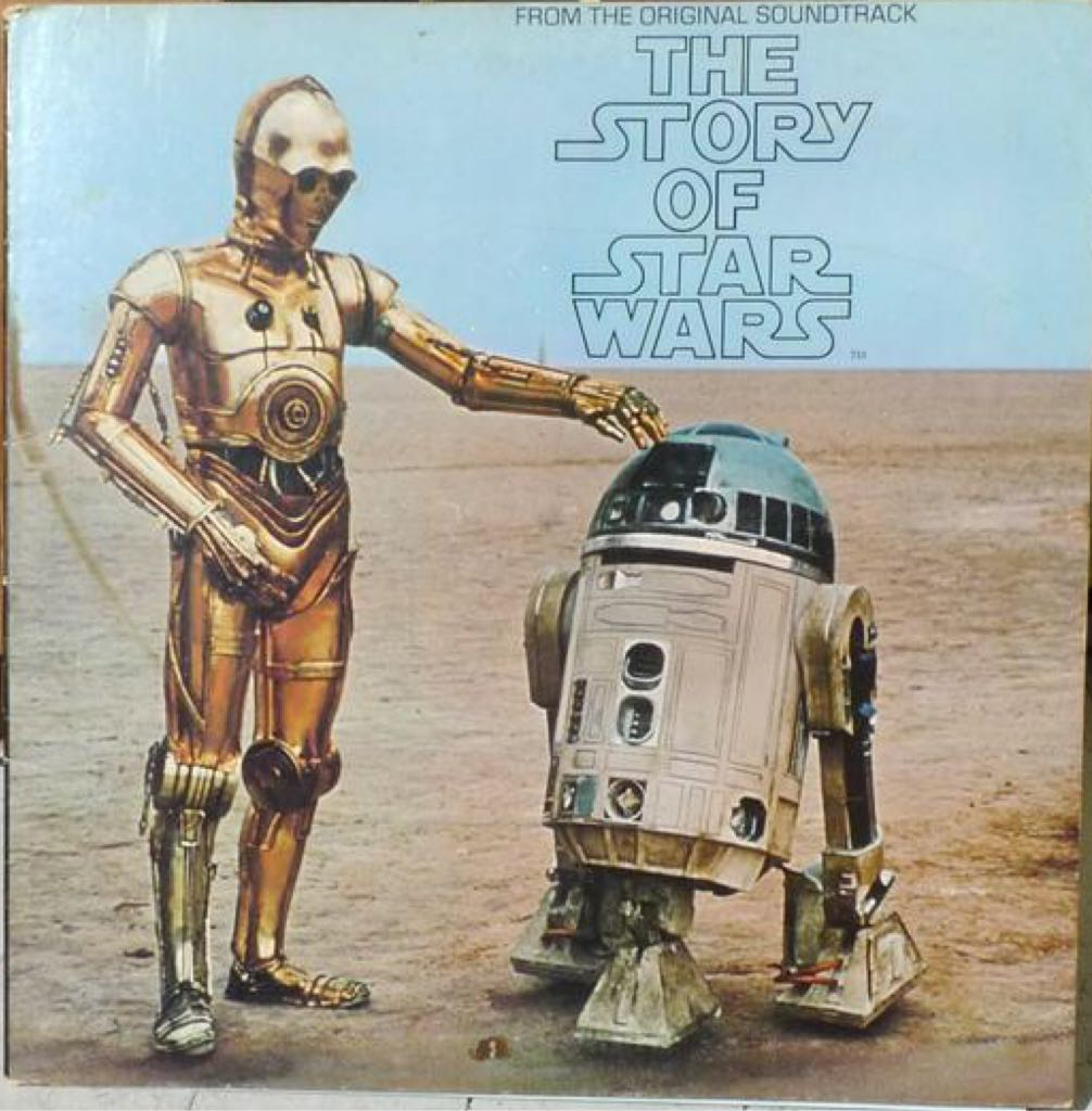 The Story Of Star Wars Vinyl 1977 Star Wars - Twentieth Century Fox (1977) front image (front cover)