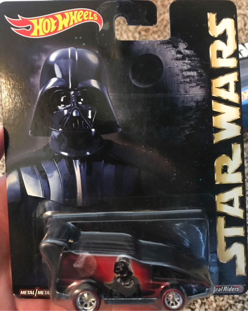 Star Wars Hot Wheels Spoiler Sport Star Wars - Hot Wheels (2015) front image (front cover)