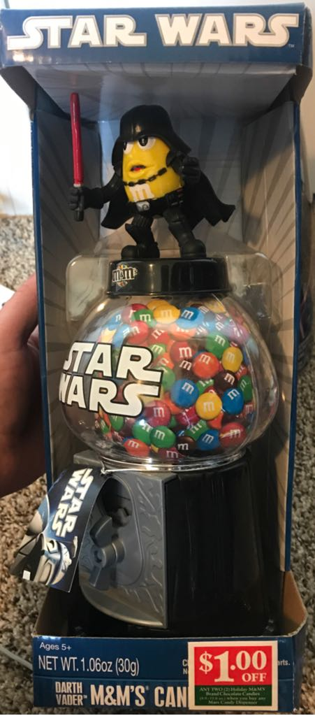 Star Wars M&M Darth Vader Coin Bank Star Wars - M&M's (2011) front image (front cover)