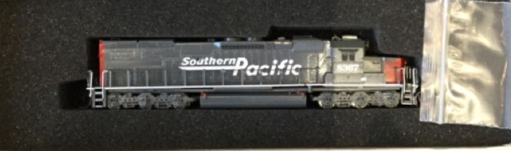 So Sd40t-2 Train - Overland Models, Inc. (Diesel Road Locomotive 6-6) front image (front cover)