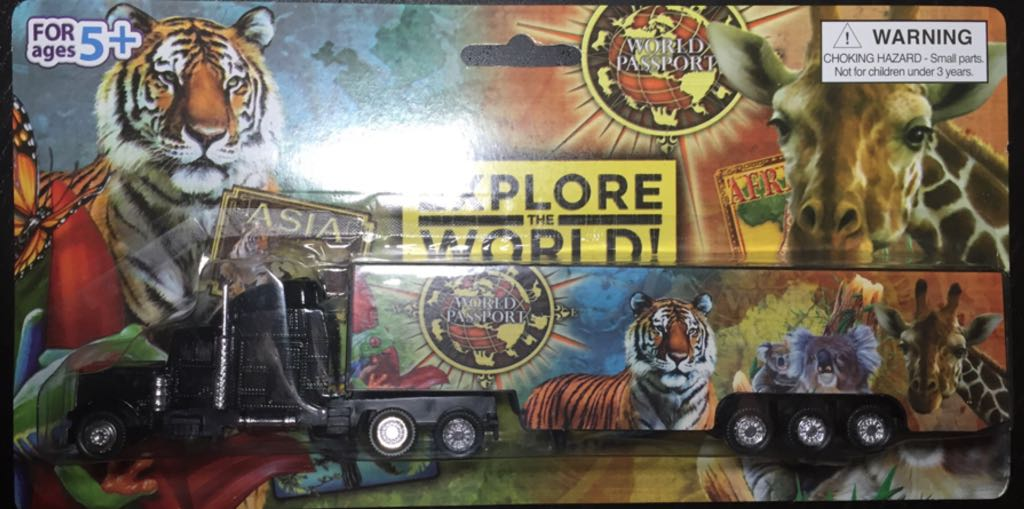 Explore The World - Miami Zoo Truck Train - Charles Products front image (front cover)
