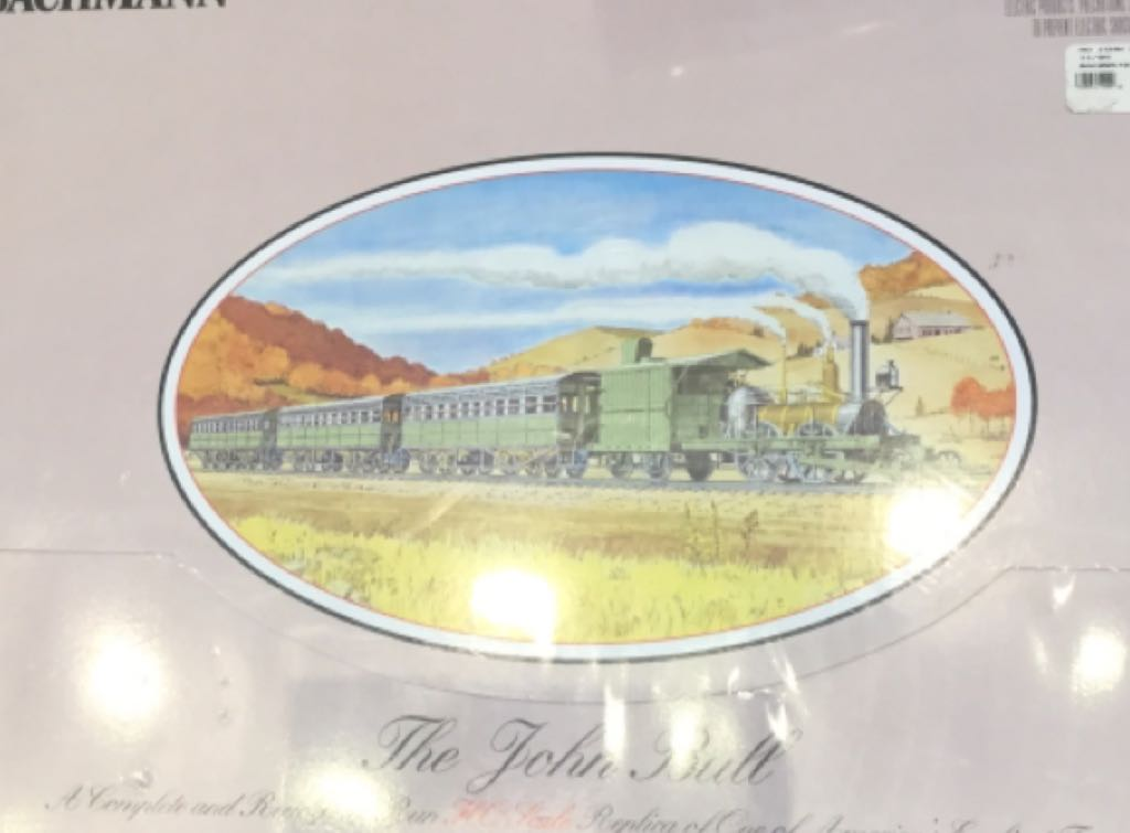 John Bull Train Train - Bachmann (Early American Train) front image (front cover)