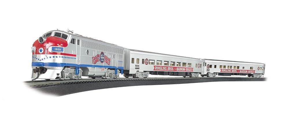 Bachmann The Greatest Show On Earth Special Train - Bachmann front image (front cover)
