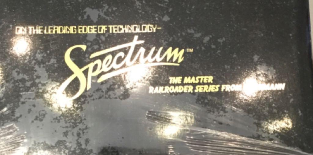 11412 Train - Bachmann (Spectrum) (Baldwin 2-8-0) front image (front cover)