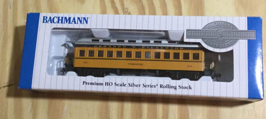 Durango & Silverton, Passenger Car Train - Bachmann Silver Series (Passenger Coach) front image (front cover)
