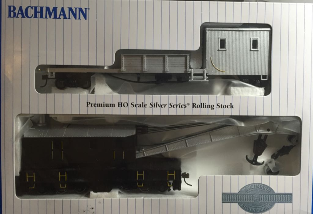 Modern Train - Bachmann (Premium HO Scale Silver Series Rolling Stock) back image (back cover, second image)
