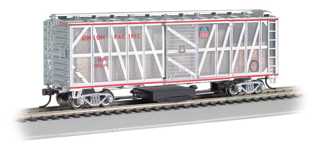 Union Pacific 40' Experimental Box Car Train - Bachmann (40' Box Car) front image (front cover)