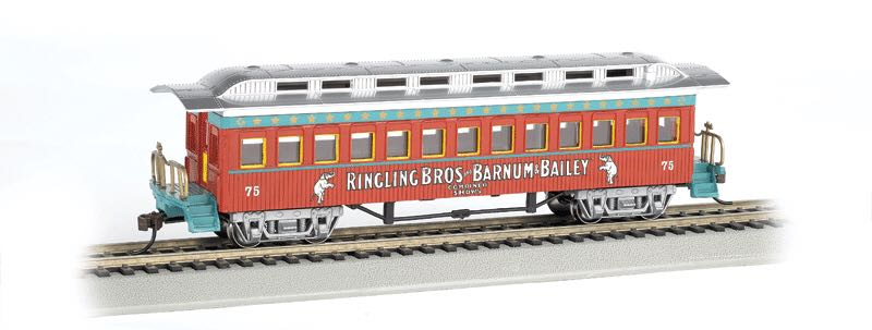Tingling Bros, Coach #75 Train - Bachmann Silver Series (Passenger Coach) front image (front cover)