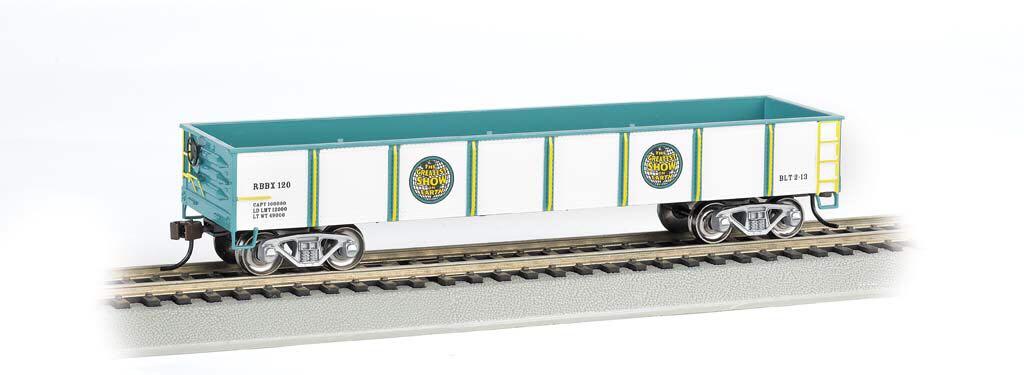 Gondola, Ringling Bros Train - Bachmann Silver Series (Gondola) front image (front cover)