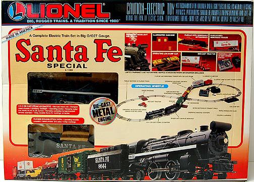 Santa Fe Special 6-11900 Train - Lionel (027) - from Sort ...