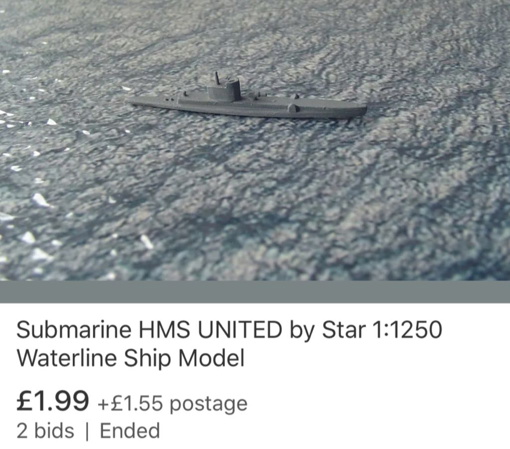 United Train - Star (Submarine) front image (front cover)