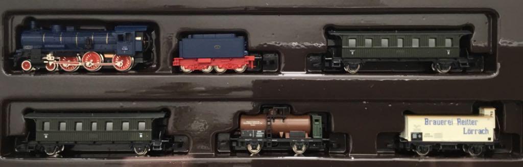 Marklin #81420 Bade Steam Locomotive Passenger/Freight Set Train - Marklin (Train Set) front image (front cover)