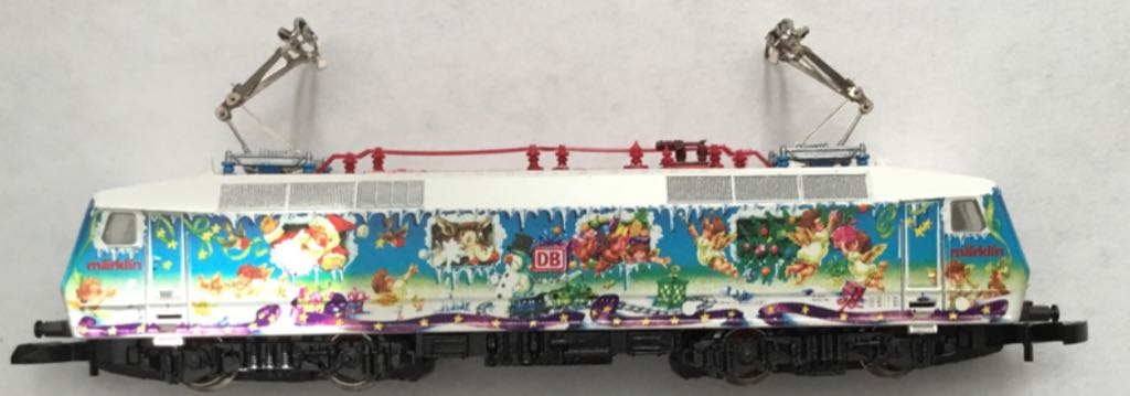 Marklin #88531 Christmas Electric Locomotive Train - Marklin (Electric Locomotive) front image (front cover)