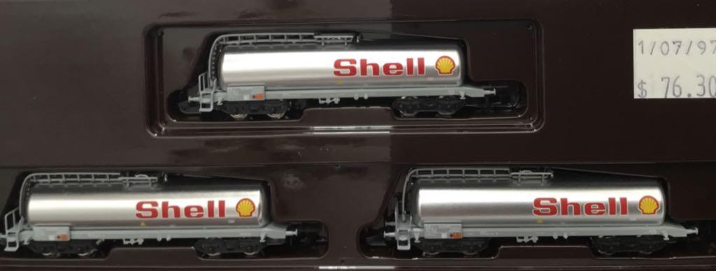 Marklin #82201 3 Car Shell Oil Set Train - Marklin (Train Set) front image (front cover)