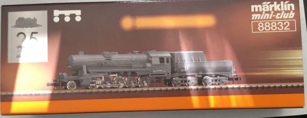 Marklin #88832 BR52 2-10-0 Steam Locomotive Train - Marklin (Steam Locomotive) back image (back cover, second image)