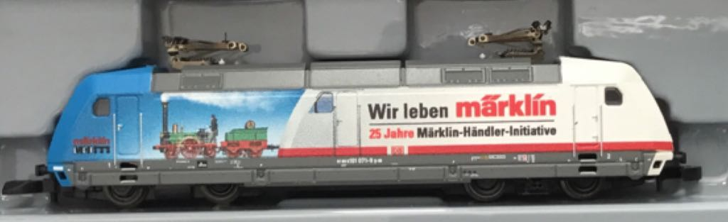 Marklin #88676 BR DB Class 101 Electric Train - Marklin (Electric Locomotive) front image (front cover)