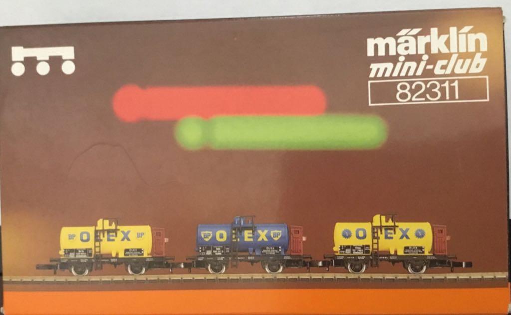 Marklin #82311 Oles 3 Tanker Car Set Train - Marklin (Rolling Stock, Tanker) back image (back cover, second image)