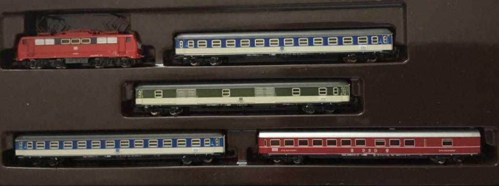 Marklin #8111 DB Passenger Demonstration Train - Marklin (Train Set) front image (front cover)
