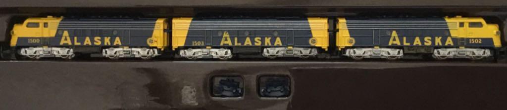 Marklin #8819 Alaska 3 Engine Set Train - Marklin (Train Set) front image (front cover)