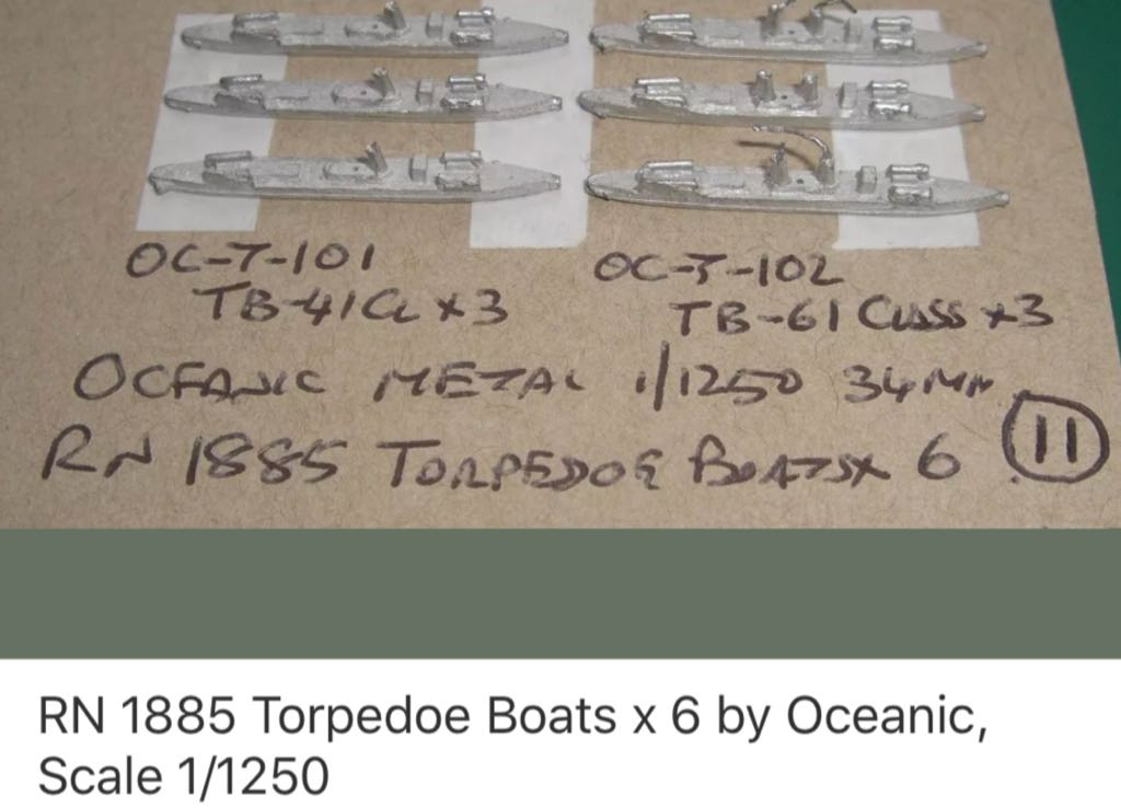 XXX T101 TB41 Class Torpedo Boat Train - XXX LISTING front image (front cover)