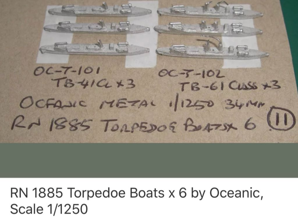 XXX T102 TB61 Torpedo Boat Train - XXX LISTING front image (front cover)
